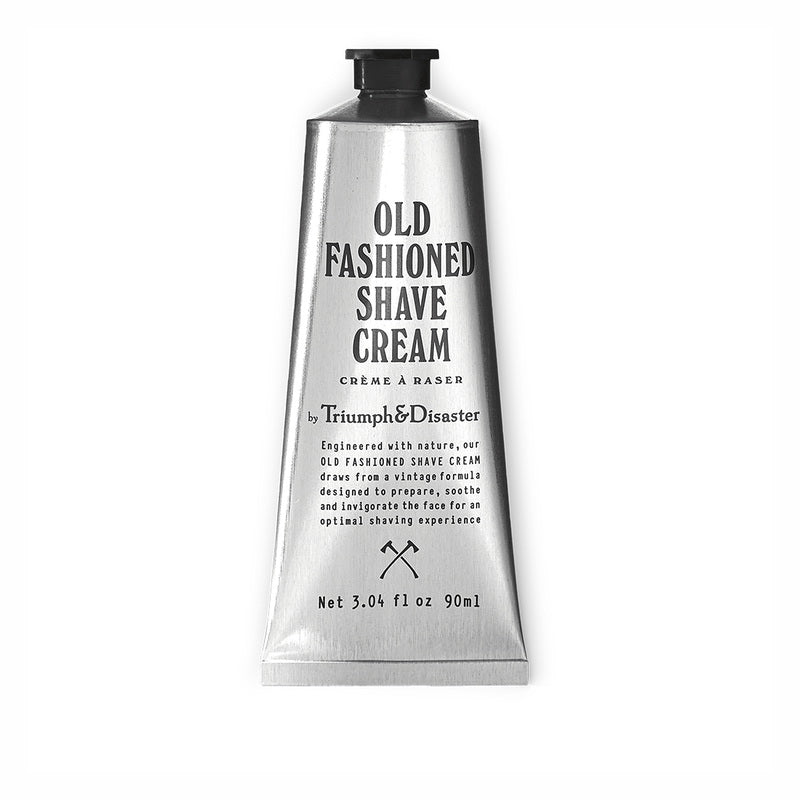 Old Fashioned Shave Cream Tube 90 ml von Triumph & Disaster | Rasur & Bart | Naturkosmetik