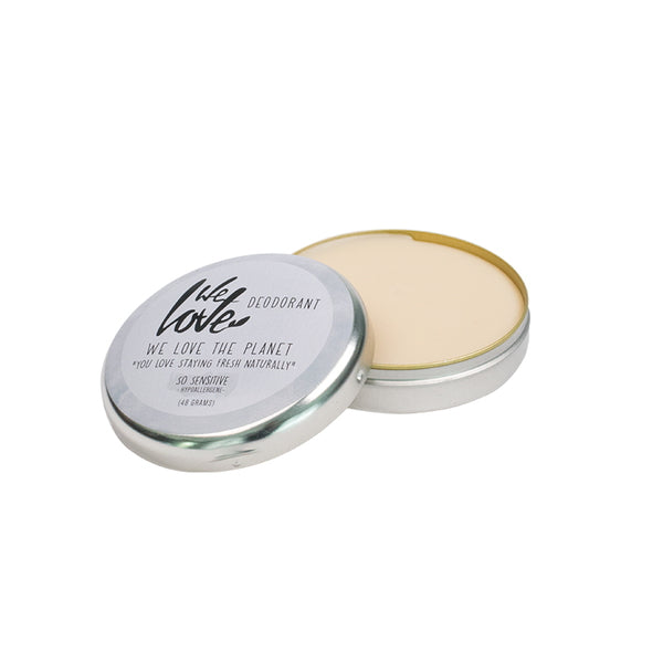 We Love The Planet Deocreme Sensitive 48 g