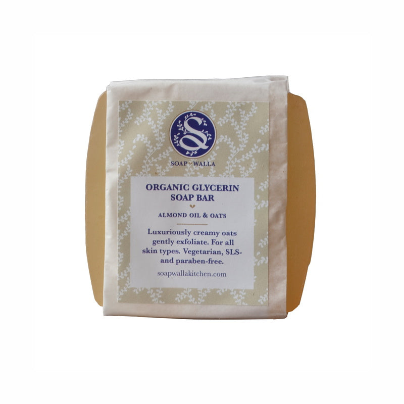 Soapwalla Kitchen Almond Oil & Oats Body Soap Bar 113 g