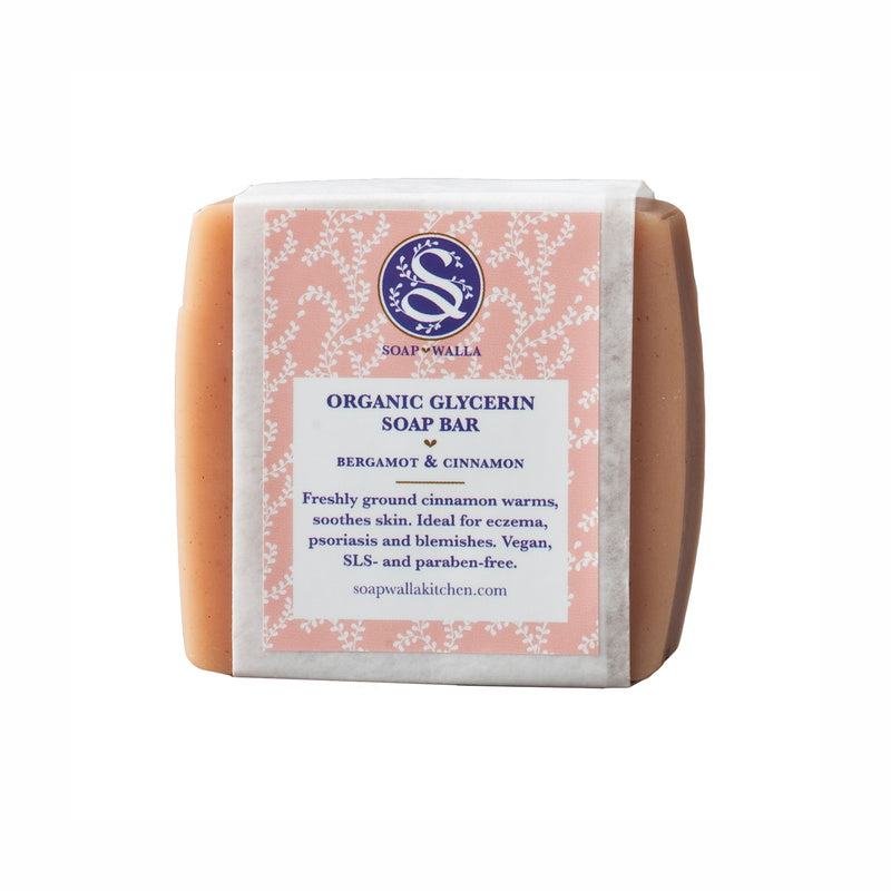 Soapwalla Kitchen Bergamot & Cinammon Body Soap Bar 113 g