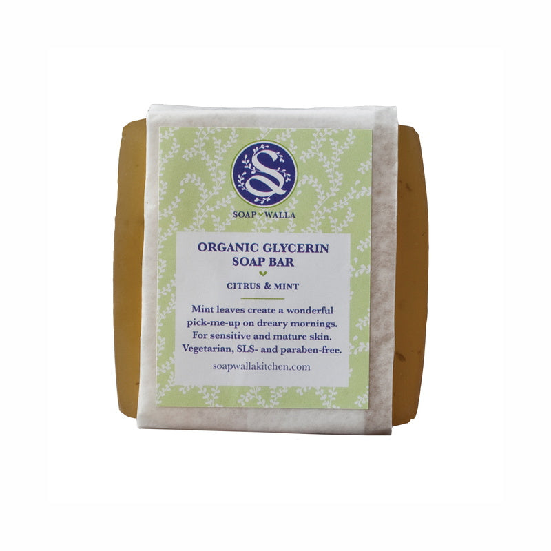 Citrus Mint Body Soap Bar 113 g von Soapwalla Kitchen | Reinigung | Naturkosmetik