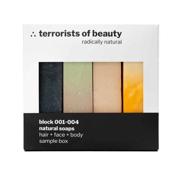 Terrorists Of Beauty Blockseifen Set 4 x Seifen