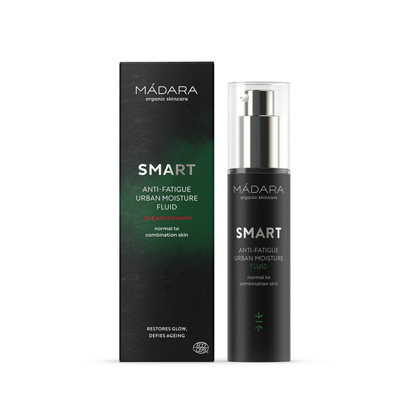Mádara Smart Antioxidants Anti-Fatigue Urban Moisture Fluid 50 ml