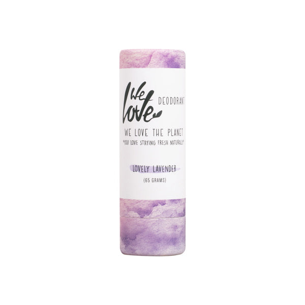 DEOSTICK LOVELY LAVENDER 65 G | WE LOVE THE PLANET | Natürlich, Vegan, Bio, Natural | Online Shop Blanda Beauty
