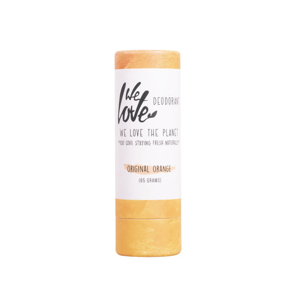 DEOSTICK ORIGINAL ORANGE 65 G | WE LOVE THE PLANET | Natürlich, Vegan, Bio, Natural | Online Shop Blanda Beauty