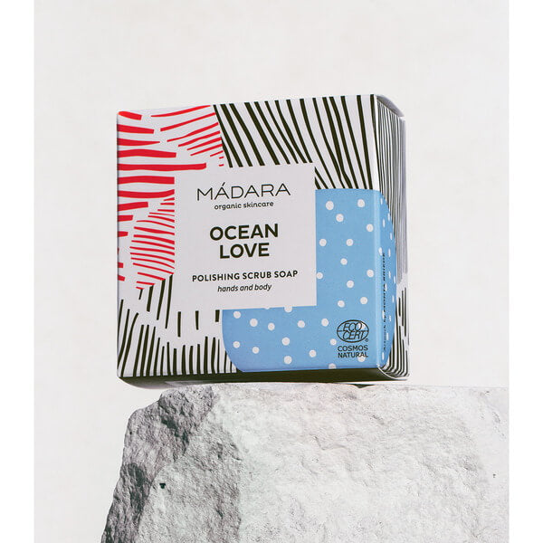 Mádara Ocean Love Polishing Scrub Soap 90 g