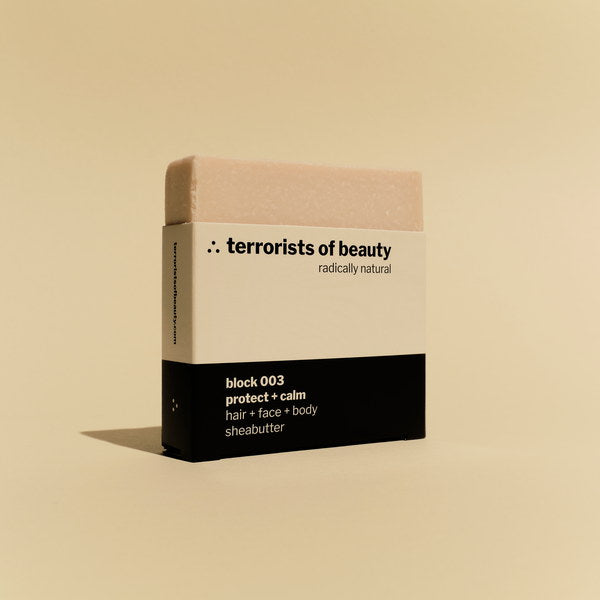 Terrorists Of Beauty Blockseife 003 | Protect + Calm 100 g
