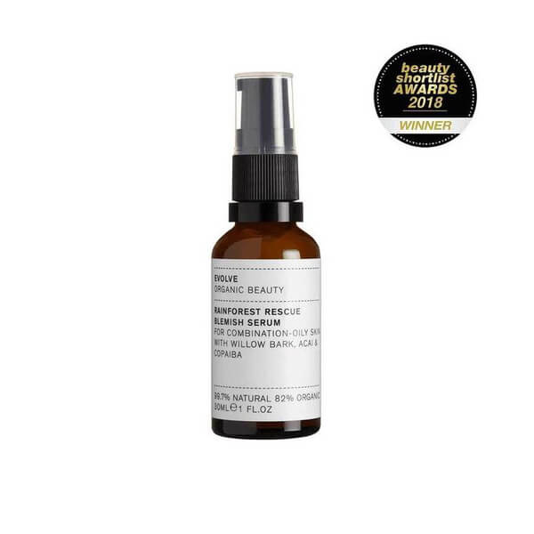 Rainforest Rescue Blemish Serum 30 ml von Evolve Organic Beauty | Öl & Serum | Naturkosmetik