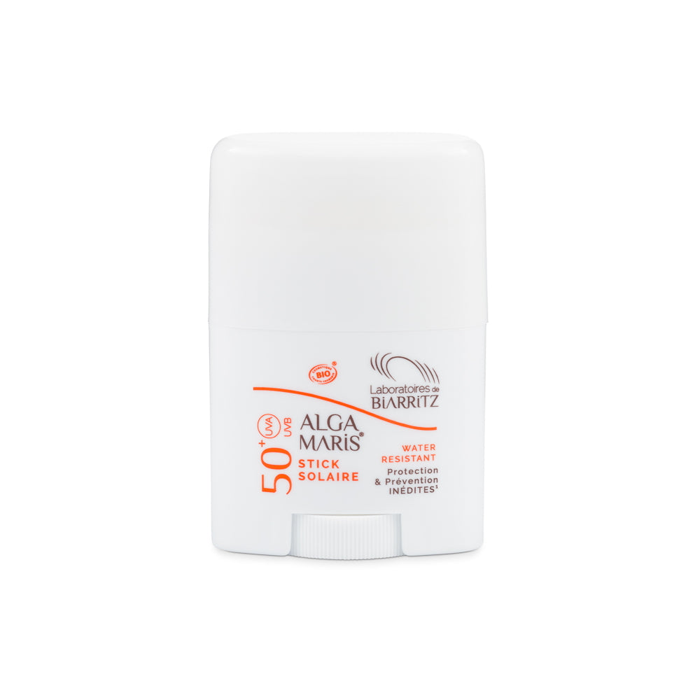 SUNSCREEN STICK LSF 50+ 25 G | ALGA MARIS | Natürlich, Vegan, Bio, Natural | Online Shop Blanda Beauty