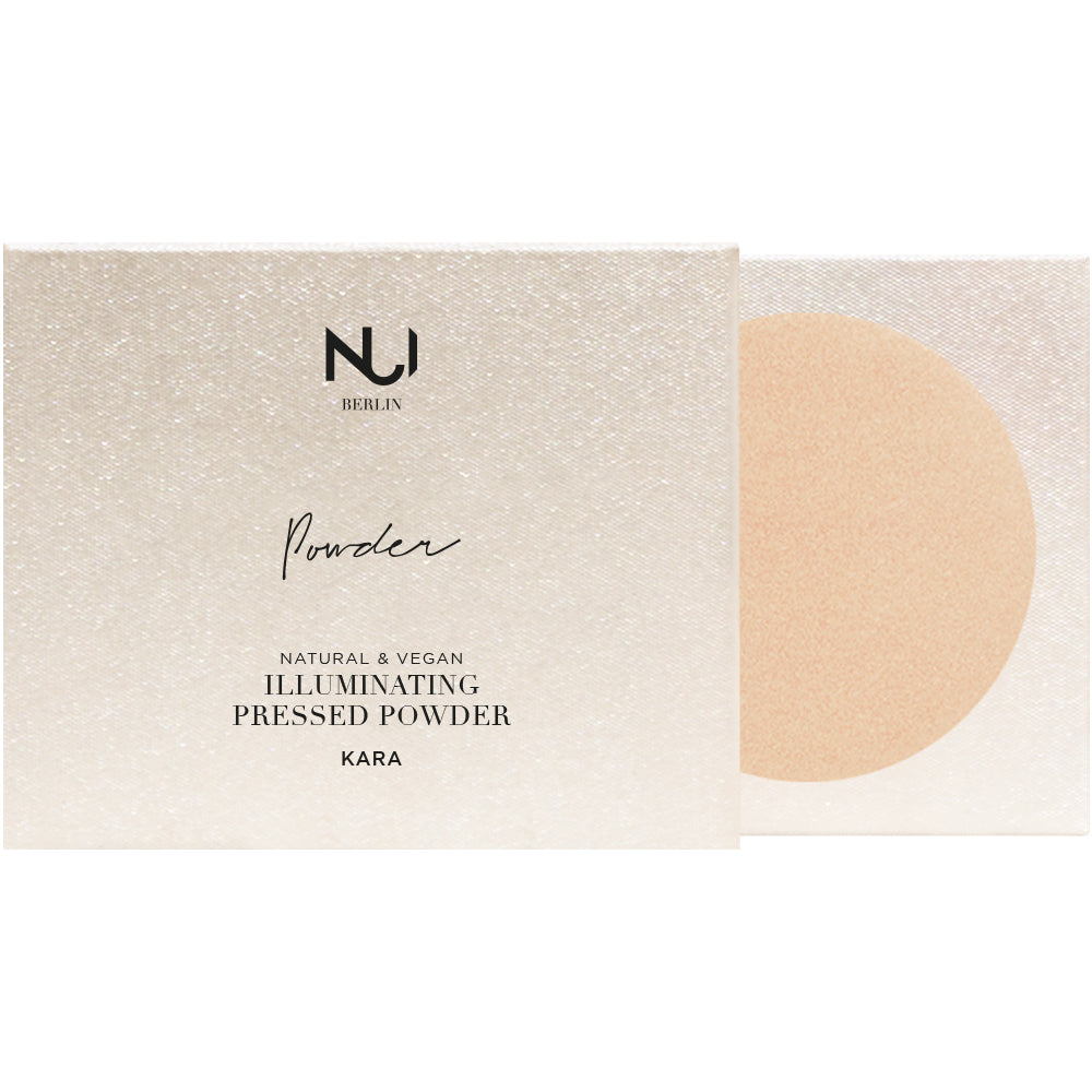 Nui Berlin Natural Illuminating Pressed Powder - Kara 12 g