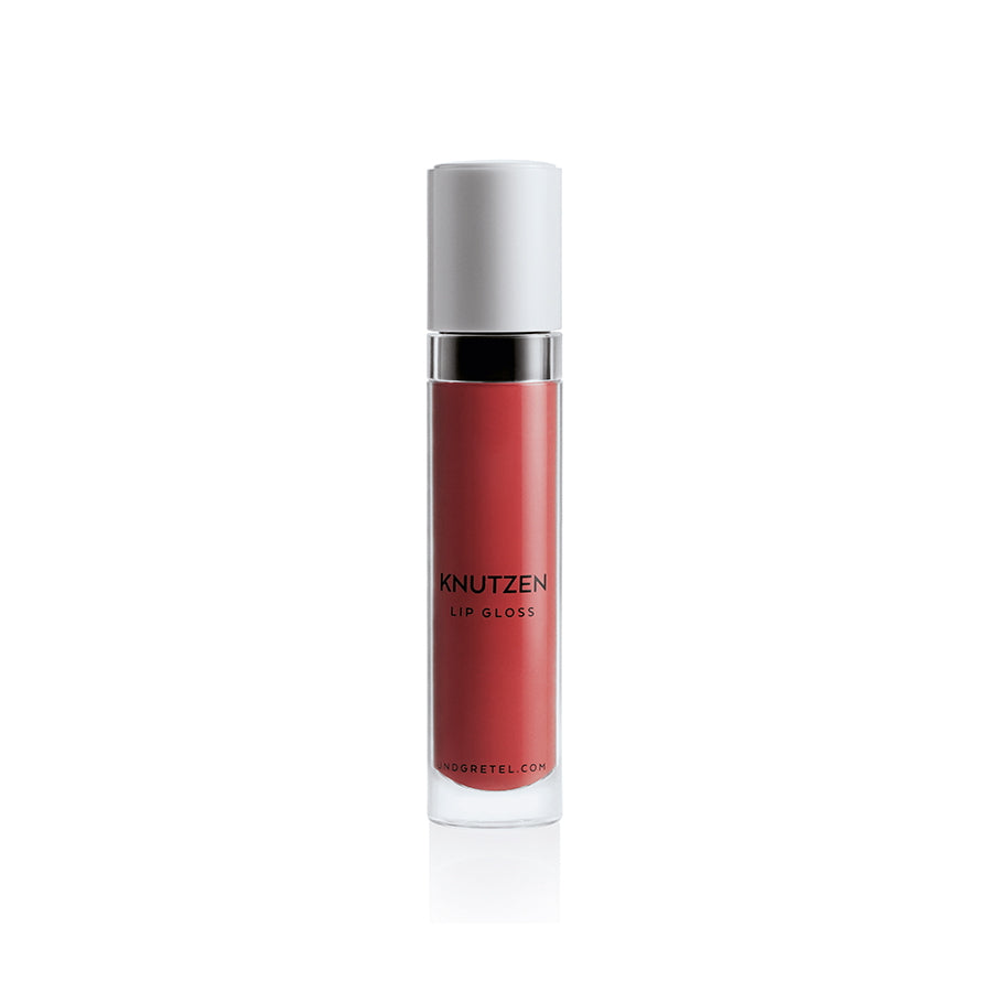 KNUTZEN LIP GLOSS 04 MATTE SUNRISE RED 6 ML | UND GRETEL | Natürlich, Vegan, Bio, Natural | Online Shop Blanda Beauty
