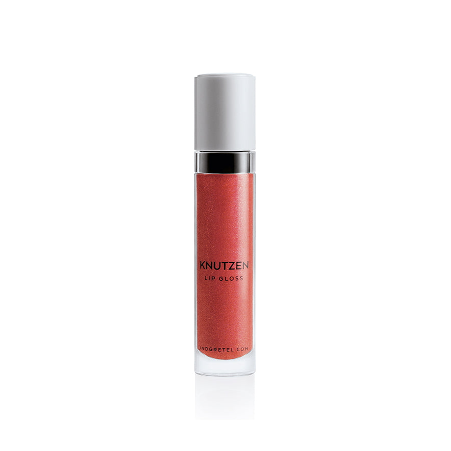 KNUTZEN LIP GLOSS 08 SUNRISE RED SHIMMER 6 ML | UND GRETEL | Natürlich, Vegan, Bio, Natural | Online Shop Blanda Beauty