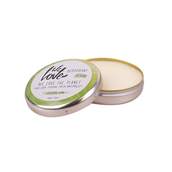Deocreme Luscious Lime 48 g von We Love The Planet | Deodorant | Naturkosmetik