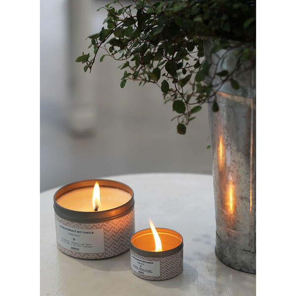 Mirins Copenhagen Soy Candle Happiness - Rose Geranium, Orange & Mint
