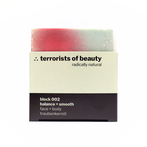 Terrorist of Beauty Blockseife 002 Balance and Smooth