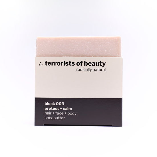 Terrorist Of Beauty Blockseife 003 mit Sheabutter