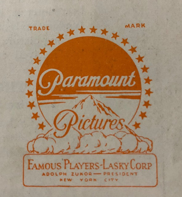 Paramount Pictures 1920's