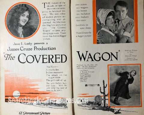 The Covered Wagon A Paramount Picture