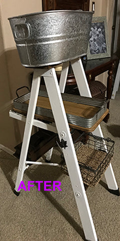 STEP STOOL BATHROOM ACCESSORY