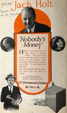 Nobodys Money A Paramount Picture