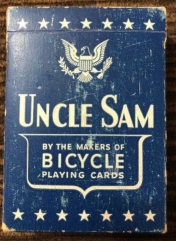 Vintage Uncle Sam Bicycle Cards