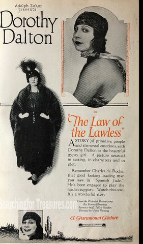 The Law Of Lawless A Paramount Picture