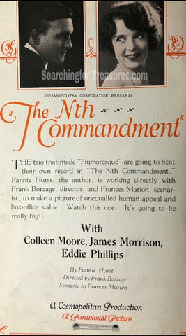 The Nth Commandment A Paramount Picture