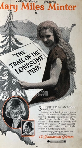The Trail Of The Lonesome Pine A Paramount Picture