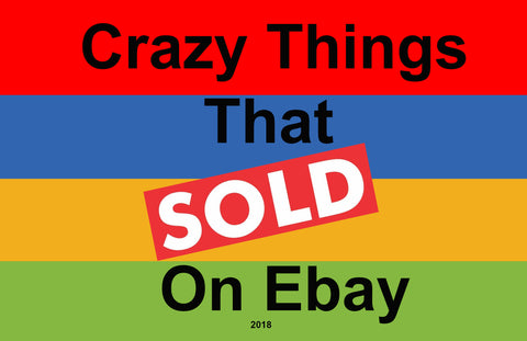 crazy things that sold on ebay