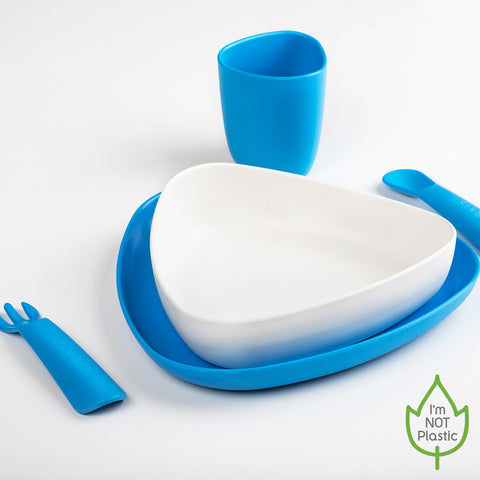 First Meal Set Blue/White