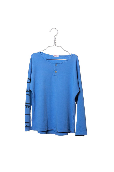 Shirt Long Sleeve Blue