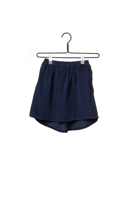 Corduroy Skirt Blue