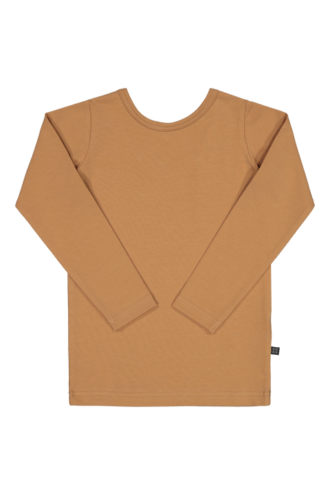 Cross Shirt LS, Latte