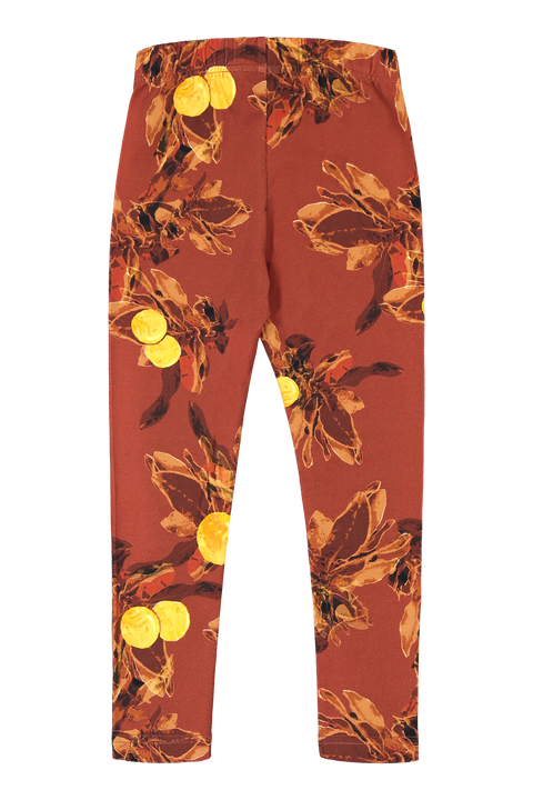 Leggings, Amber Orange
