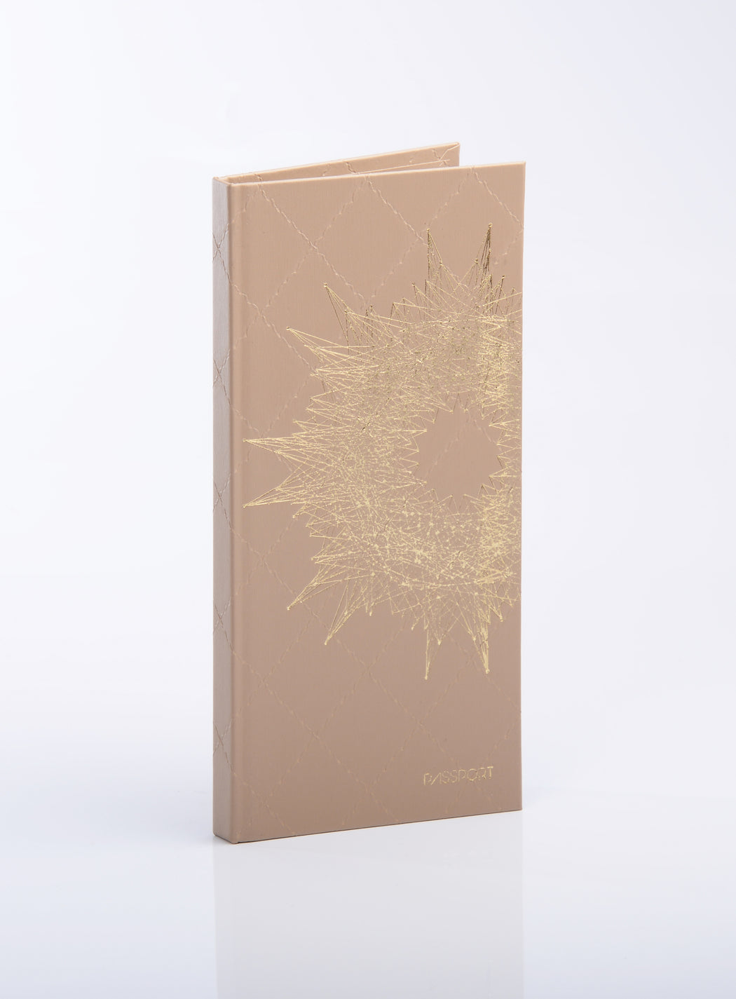 LuKLabel- Passport Cover, Tähtisumu Beige