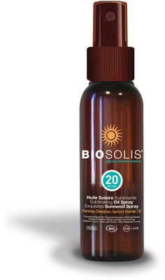 Biosolis Sun Spray Oil SK20 Face and Body