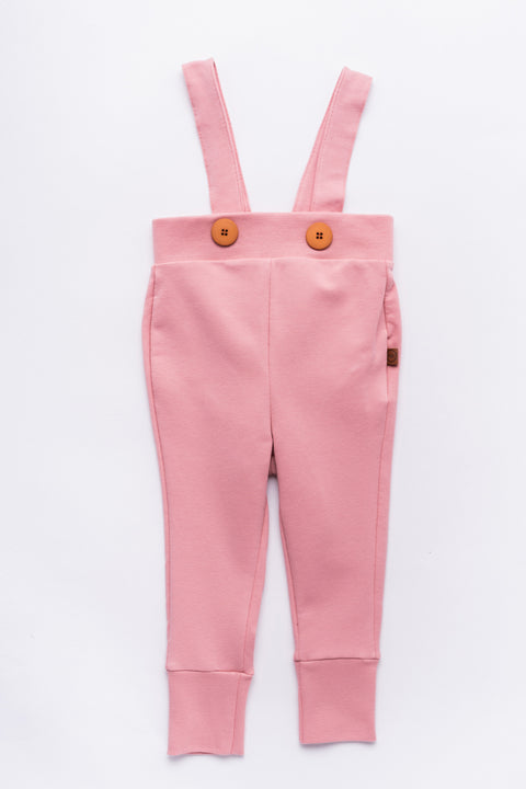 College pants with frill, Rose Tan