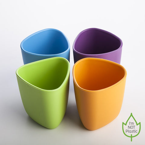 Mugs 2 pcs orange/purple
