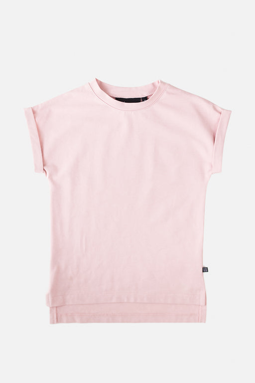 Drop shoulder t-shirt, rose