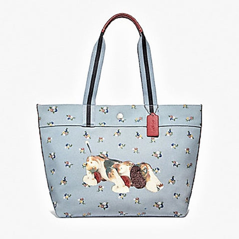 COACH FISHER PRICE DOG TOTE