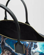 Load image into Gallery viewer, Ted Baker Luciel Blue Lagoon Large Nylon Shopper Tote Bag