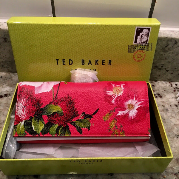 Ted Baker MILDI Berry Sundae Leather Crystal Bobble Matinee