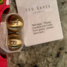Load image into Gallery viewer, Ted Baker MILDI Berry Sundae Leather Crystal Bobble Matinee