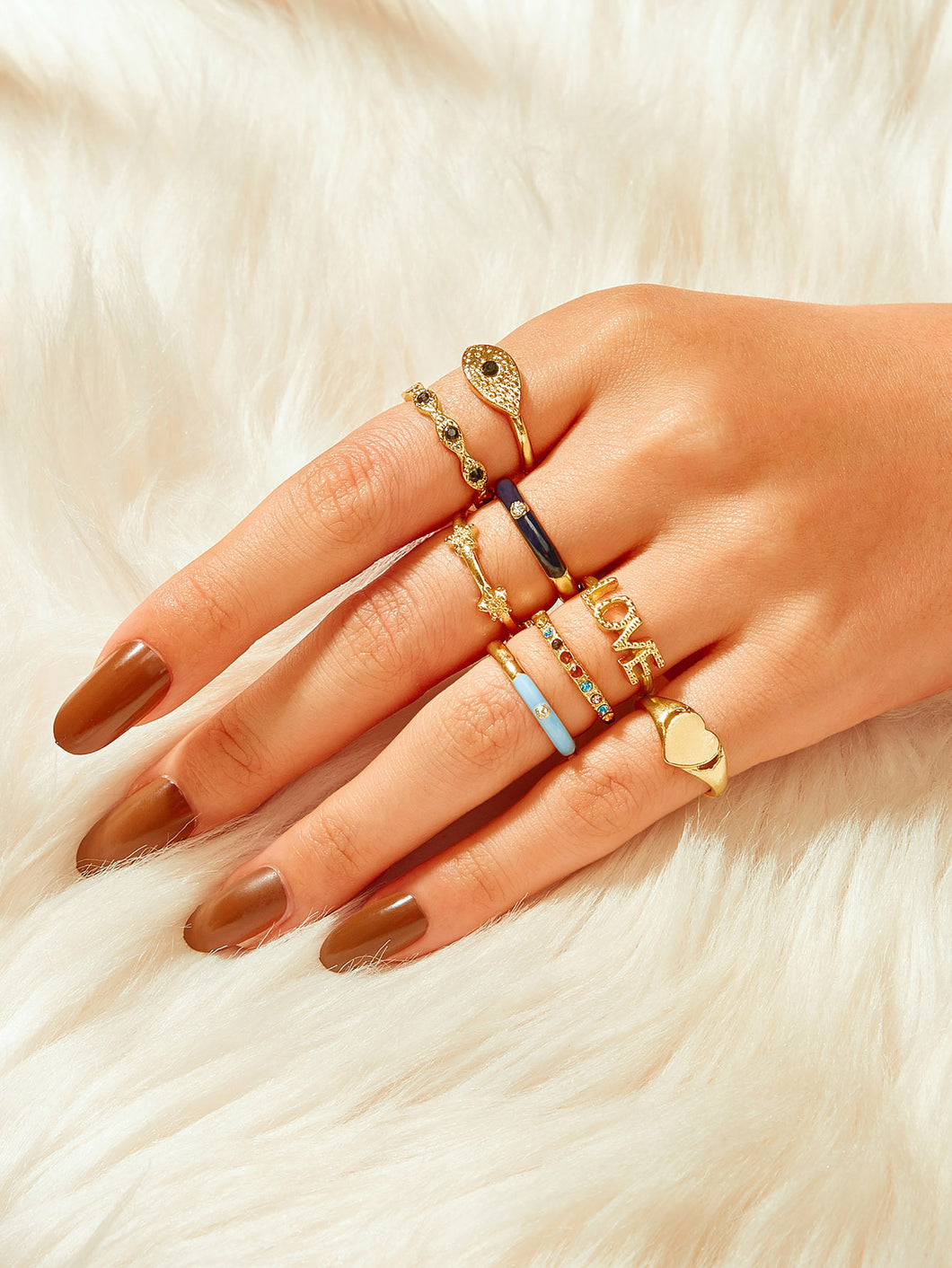 Love rings set