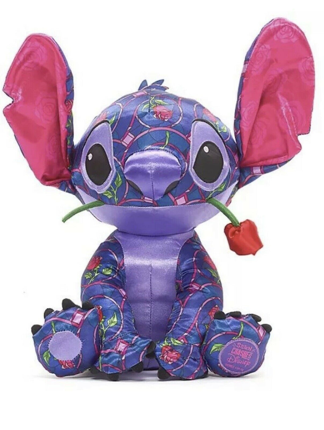 Stitch Crashes Disney Plush Beauty And The Beast