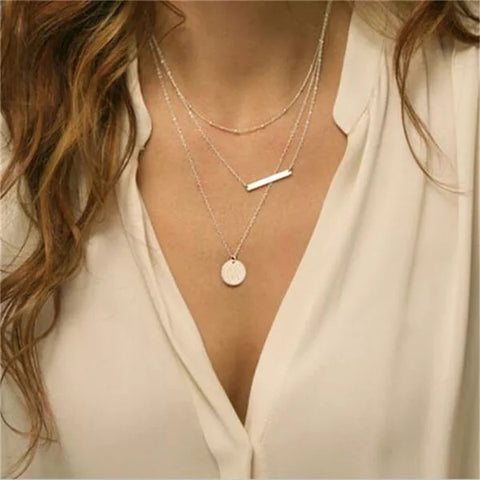 Hannahh layered necklace
