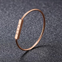 Load image into Gallery viewer, Rose gold LOVE ring