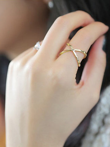 Stephanie X ring