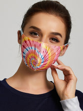 Load image into Gallery viewer, Pink Scarf Face Masks
