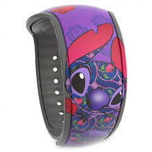 Load image into Gallery viewer, Stitch Crashes Disney Magicband– Beauty and the Beast